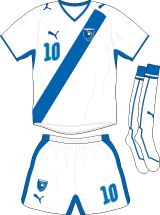 Guatemala - home jersey (2008)