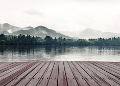 #Shutterstock's 15 Most #Viral Images of 2015 - #Photography #Photos #Imagery #Social -lake dock fog stock photo