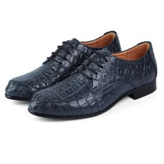 Big Size Men Leather Lace Up Pointed Toe Business Formal Oxfords Shoes Online…