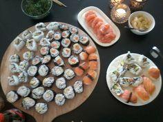 Zelfgemaakte sushi! Jam jam