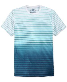 American Rag Men's Ombre Stripe T-Shirt, Only at Macy's