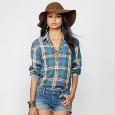 Denim & Supply Ralph Lauren Plaid Wayne Utility Shirt on shopstyle.com