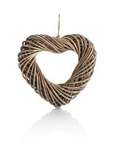 Small Wicker Heart | M&S