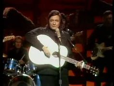 Johnny Cash singing City of New Orleans at the Grand Ole Opry in Nashville, Tennessee - YouTube