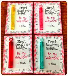 Bubble Valentines
