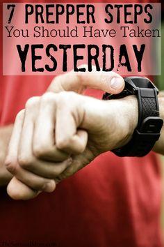 7 Prepper steps you should have taken yesterday
