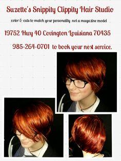 Suzette Simoneaux  Owner /Operator  @Suzette's Snippity Clippity Hair Studio