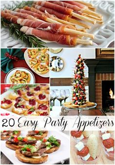 20 Easy Party Appetizers via Refresh Restyle wontonappetizers Wonton Appetizers, Holiday Appetizers, Best Appetizers, Appetizers For Party, Appetizer Recipes, Holiday Recipes, Appetizer Ideas, Christmas Recipes, Yummy Recipes