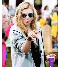 "jaimeelannis: """"Natalie Dormer at 2016 Glastonbury Festival on 24th June, 2016…"