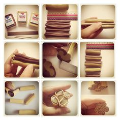 SUPER EASY ANIMAL PRINT CANE 1 You will need- CERNIT brown/glamour antique gold/glamour gold/polymer clay blade. 2 First take the antique gold and roll the whole packet into a ball,then form th. Polymer Clay Canes, Fimo Clay, Polymer Clay Projects, Polymer Clay Beads, Clay Crafts, How To Make Clay, How To Make Beads, Polymer Clay Animals, Clay Design