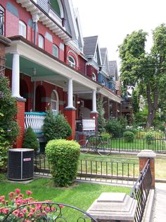 """Love the old houses downtown. I remember when the renovations really started and it became """"cool"""" to live in the city."""