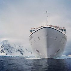 On board the luxurious Seabourn Quest, T+L sails to the ends of the earth—a fantastical landscape of ice, water, penguins, and whales. Let the adventure begin. Photo courtesy of seabourncruise on Instagram.