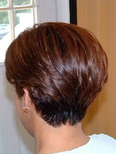 Short hair, hair by Jody Brinkmeier - Short Hair Cuts For Women - Haircuts For Fine Hair, Haircut For Thick Hair, Short Bob Haircuts, Cute Hairstyles For Short Hair, Curly Hair Styles, Short Stacked Haircuts, Short Grey Hair, Short Hair With Layers, Layered Hair