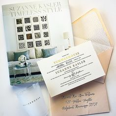 ... Ink on Pinterest | Wedding invitations, Invitations and Calligraphy