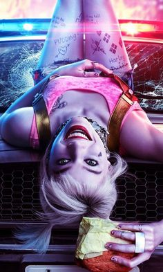 Birds of Prey, film uit Harley Quinn Birds of Prey, film uit . : Birds of Prey, film uit Harley Quinn wallpaper, Harley Quinn Tattoo, Harley Quinn Drawing, Harley Quinn Et Le Joker, Margot Robbie Harley Quinn, Harley Quinn Cosplay, Joker Joker, Joker Art, Birds Of Prey, Maquillaje Harley Quinn