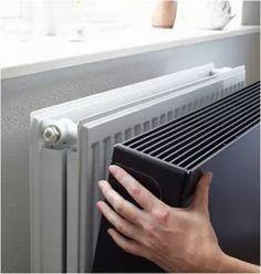 NIEUW: Magnetische radiatorbekleding. Geef uw bestaande paneelradiator zonder afbraak een frisse look. Strak design, 16 kleuren, op maat gefabriceerd.