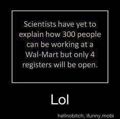 Walmart...