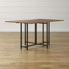 Origami Drop Leaf Rectangular Dining Table