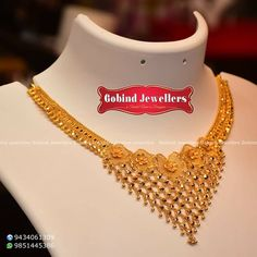 Today'sNew Collection Weight- (Approx) Price - if you the Design :) Gold Necklace Simple, Gold Jewelry Simple, Gold Jewellery Design, Jewelry Design, Necklaces, Jewels, Kleding