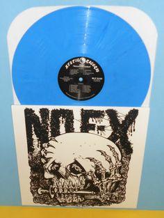 Nofx maximum rock and roll LP Record BLUE MARBLED Vinyl, Mystic Records LTD. ED.