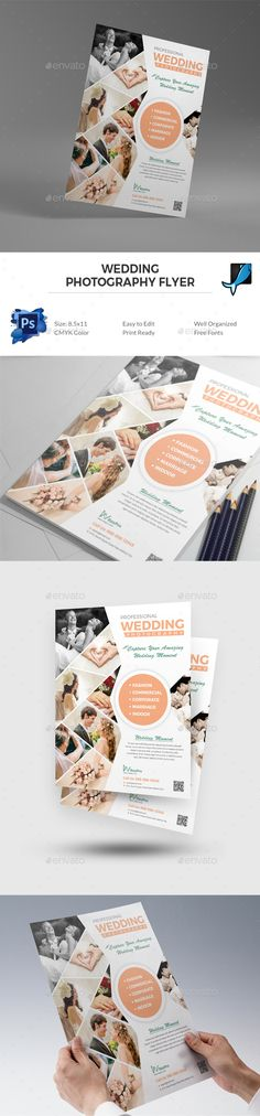 Wedding Photography Flyer Photography Flyer Flyer Template And