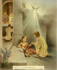 """PIEDAD """"Sana nuestro corazón de todo tipo de dureza y lo abre a la ternura para con Dios como Padre y para con los hermanos como hijos del mismo Padre. Clamar ¡Abba, Padre!"""""""