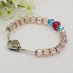 PandaHall Jewelry—Fashionable Glass Bracelets with CCB Acrylic Beads, Iron Tube Beads and Tibetan Style Beads   PandaHall Beads Jewelry Blog