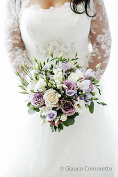 bouquet of the bride #wedding #bouquet #lilac #bride