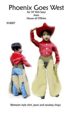"K14010 Halloween is Fun pattern  for 14/"" Chrysalis Kish"