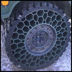 Airless Tire - Where have these been all my life!! I hate flats