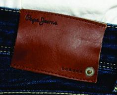 etiqueta de cintura Pepe jeans.