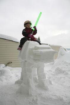 tutorial AT-AT out of snow