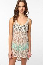 Ecote Easy Crochet Cover-Up  #UrbanOutfitters