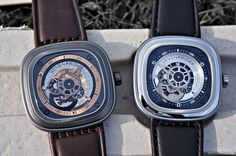 SevenFriday Watch. Contact info@convopiece.com for more info on these unique and affordable timepieces.