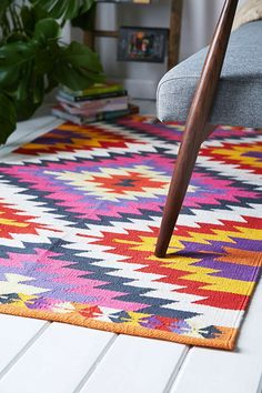 Magical Thinking Elmas Kilim Woven Rug - Urban Outfitters