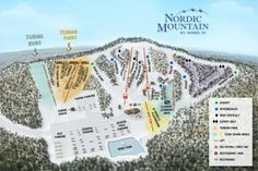 Nordic Mountain in Wild Rose, WI