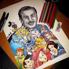 Originales ilustraciones de conocidos personajes del mundo animado cargados de elementos del mundo de donde los conocemos. by Little Sams Art → behance.net/Littlesamsart