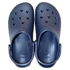 new arrival 79627 9ff00 Disney Crocs in Classic Navy Blue Women s Crocs, Crocs Shoes, Navy Blue  Shoes,