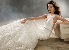 Bridal Gowns, Wedding Dresses by Jim Hjelm - Style jh8166