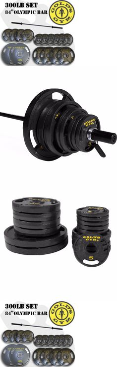 Weight Plates 179817: 300Lb Olympic Weight Set W 84 Bar Barbell Home Gym Squat Bench Deadlift Train -> BUY IT NOW ONLY: $294.99 on eBay!