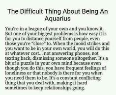 Difficult part of Aquarius