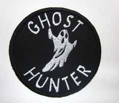 Hey, I found this really awesome Etsy listing at https://www.etsy.com/listing/474240761/ghost-hunter-iron-on-patch
