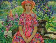 Portrait of Katya - Olga Suvorova Russian Paintings I Love, Beautiful Paintings, Fields In Arts, Portrait Art, Portraits, Jig Saw, Illustrations, Illustration Art, Art Du Monde