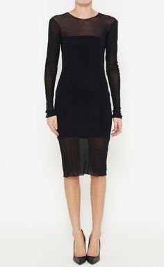 Karl Lagerfeld Black Dress Beautiful black dress