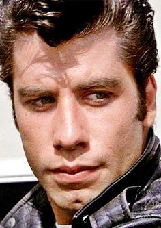 John Travolta in Grease, 1978