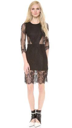 Pencey Kappa Lace Dress @ shopbop