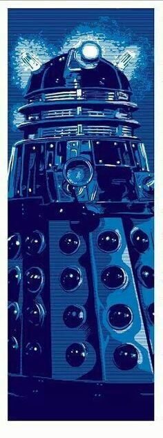Cool Art: Dalek 'Doctor Who' Print by Tim Doyle Doctor Who Dalek, Doctor Who Fan Art, Eleventh Doctor, Desenhos Doctor Who, Greys Anatomy, Doctor Who Wallpaper, Tardis Wallpaper, Serie Doctor, Fanart