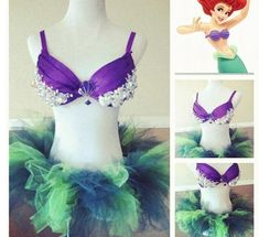 Disney Princess rave outfit