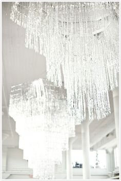 New Year's Eve :: Tinsel Inspiration but i would use it at a party in a heart beat