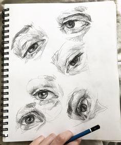 17.7 тыс. отметок «Нравится», 33 комментариев — Elly Smallwood (@ellysmallwood) в Instagram: «Little eye studies»